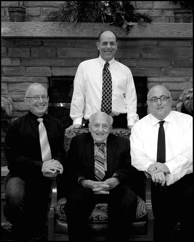 Mike mark dad jim bw 8x10